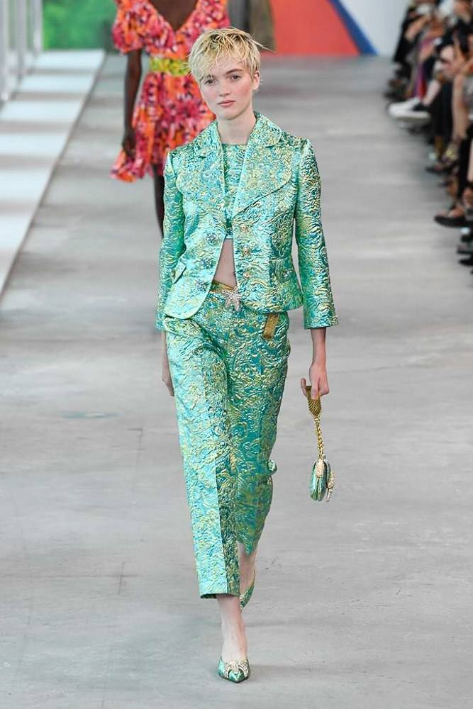 Michael Kors Redefines Spring At The NYFW S/S 2019 Show 17