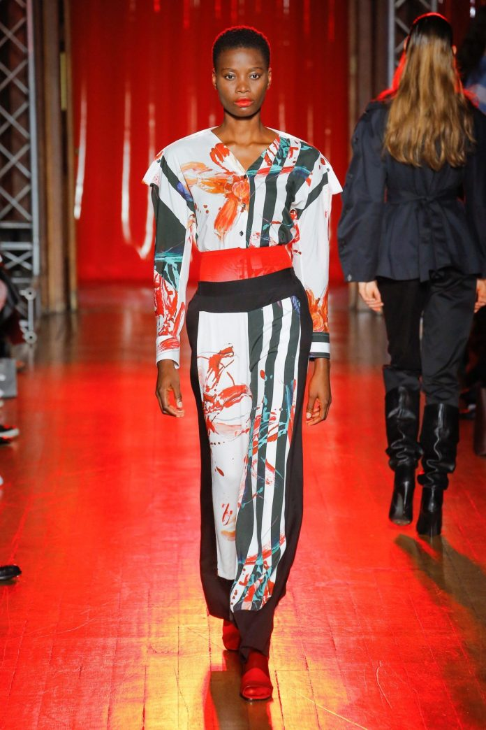 Palmer Harding Spring Summer 2019 Collection At The LFW 11