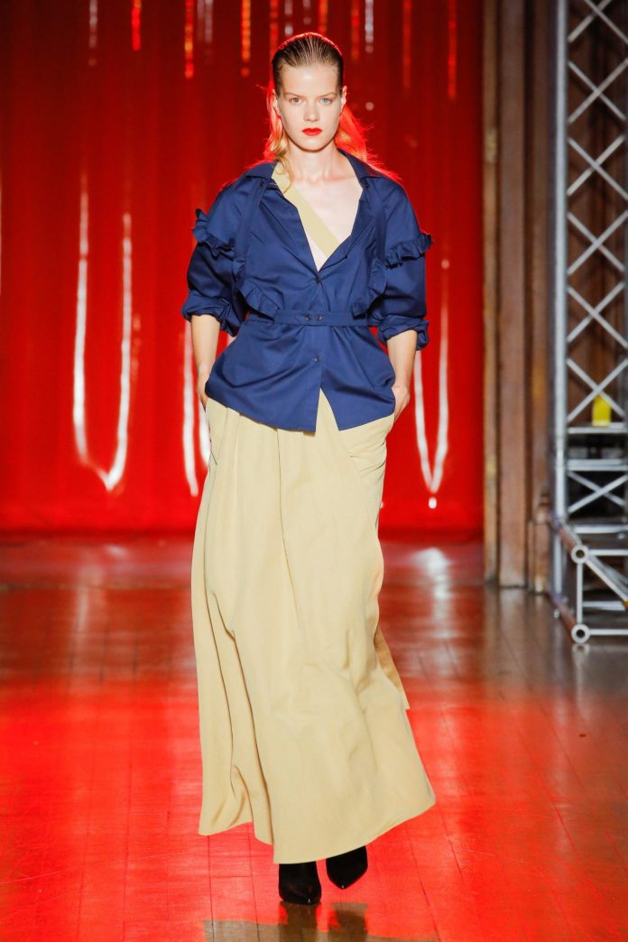 Palmer Harding Spring Summer 2019 Collection At The LFW 16