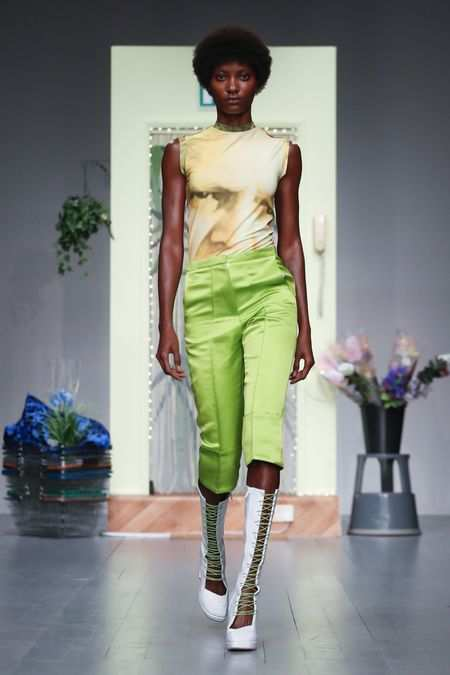 LFW: Richard Malone Spring Summer 2019 Collection 12