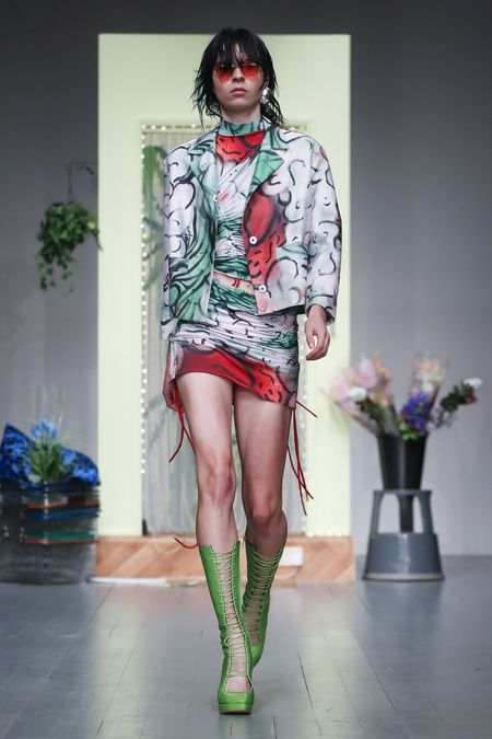 LFW: Richard Malone Spring Summer 2019 Collection 21