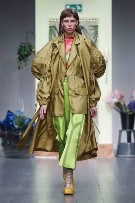 LFW: Richard Malone Spring Summer 2019 Collection 28