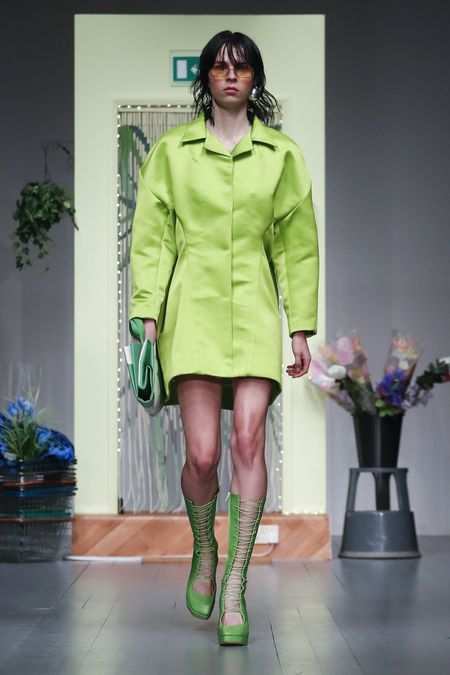 LFW: Richard Malone Spring Summer 2019 Collection 7