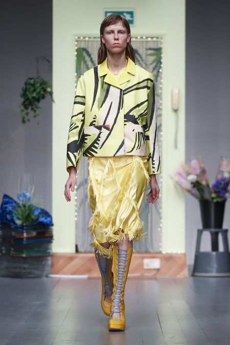 LFW: Richard Malone Spring Summer 2019 Collection 9