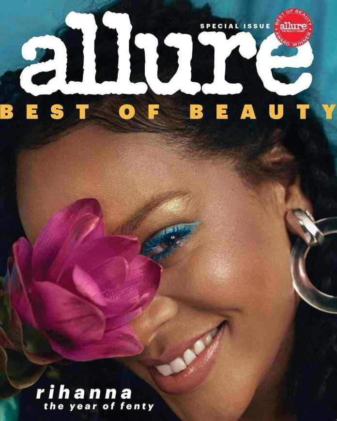 The Year Of Fenty! Rihanna Is The Cover Star For Allure's Best Of Beauty Issue 1