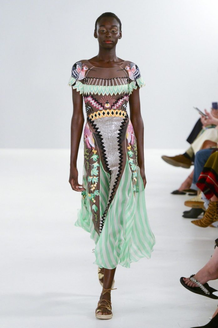 Bohemian! Temperley London Spring 2019 Collection At London Fashion Week 17