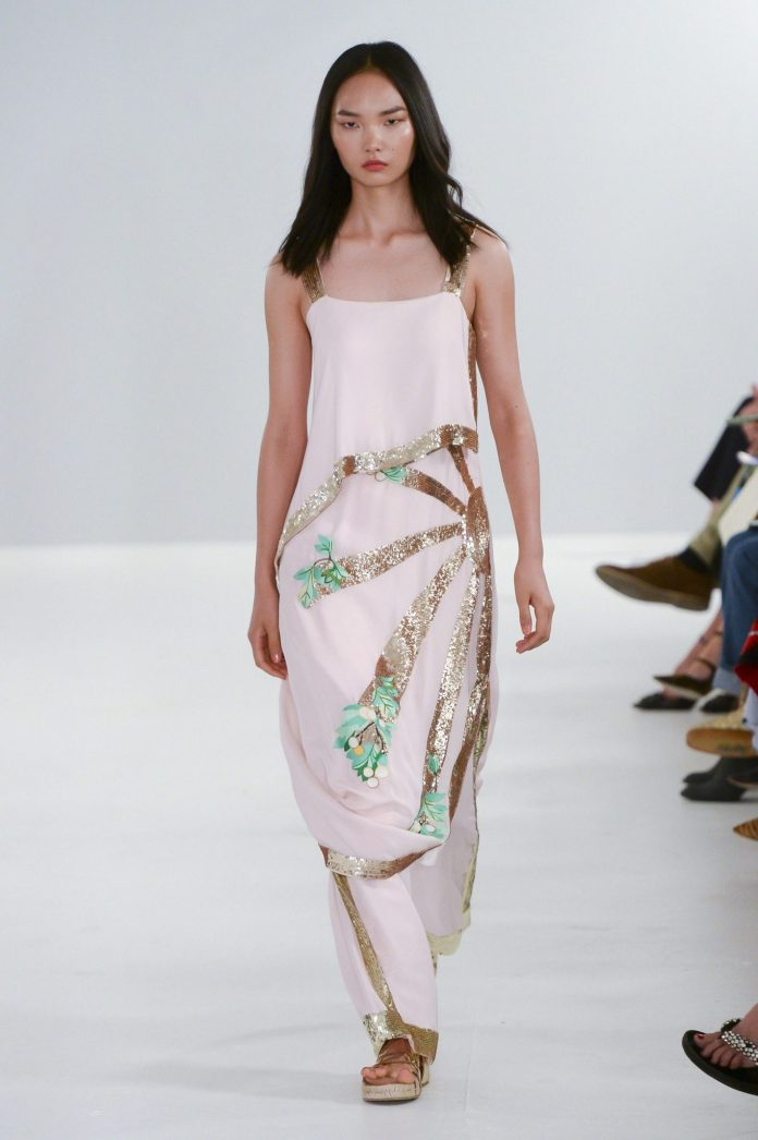 Bohemian! Temperley London Spring 2019 Collection At London Fashion Week 20