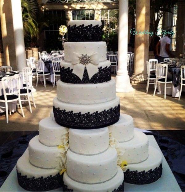 Weddings: 5 Mind Blowing Wedding Cake Inspirations 5