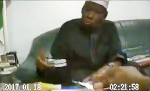 #GandujeGate! New Video of Kano Governor Collecting Bundles Of Dollars Released 1