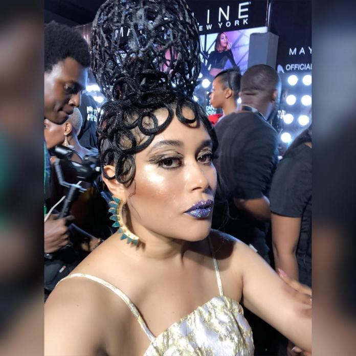 Adunni Ade Debuts New Hairstyle At Lagos Fashion Week 1