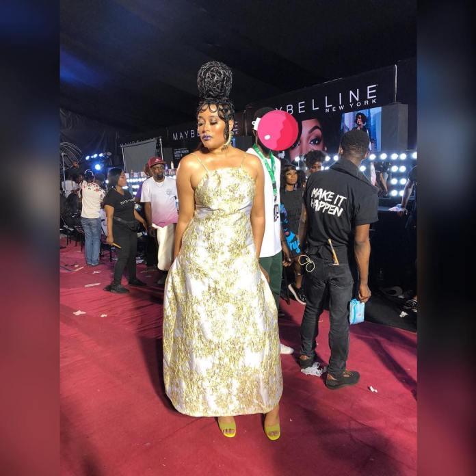 Adunni Ade Debuts New Hairstyle At Lagos Fashion Week 4