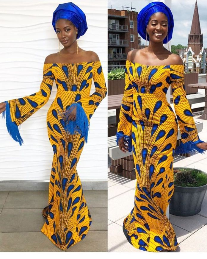 Ankara Style: Get Chic and Super Cute In This Lovely Gowns 1