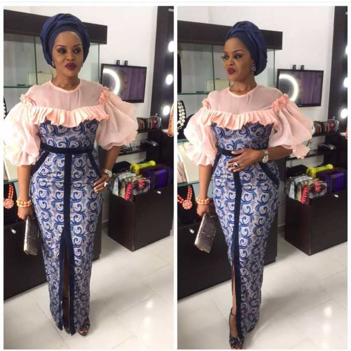Ankara Style: Get Chic and Super Cute In This Lovely Gowns 4