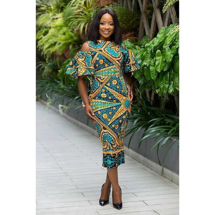 Ankara Style: Get Chic and Super Cute In This Lovely Gowns 5