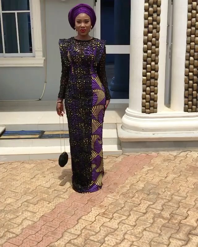 Ankara Style: Get Chic and Super Cute In This Lovely Gowns 7