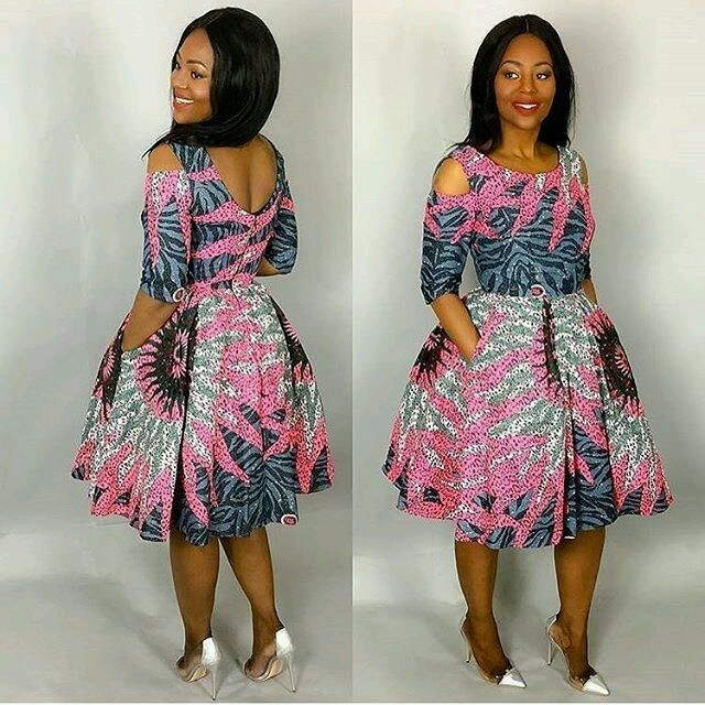 Ankara Style: Slay Your Week With Beautiful Short Gown Designs 3