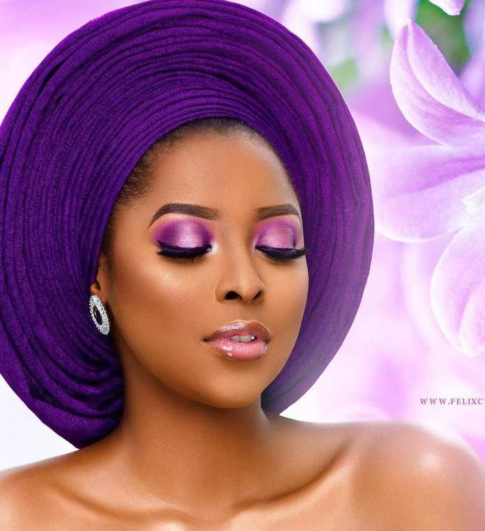 Aso Ebi Style: Stunning Makeup And Gele Styles To Compliment Your Aso Ebi 6