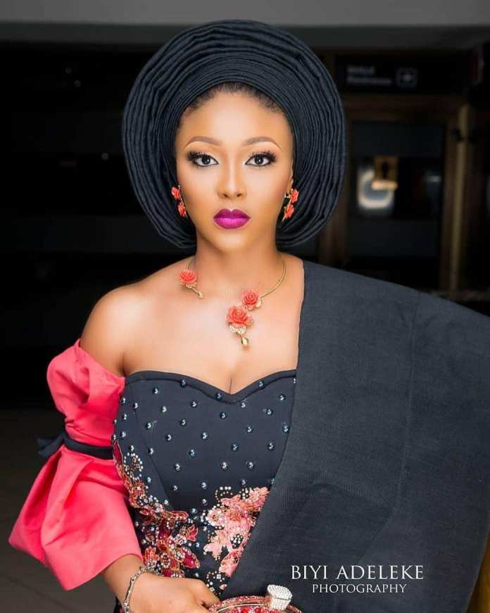 Aso Ebi Style: Stunning Makeup And Gele Styles To Compliment Your Aso Ebi 10