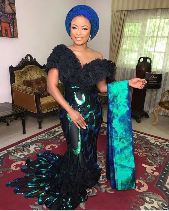 Aso Ebi Style: Check Out The Trending Aso Ebi Styles 4