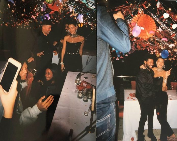 Bella Hadid Shares More Photos From Her Surprise Birthday Party As She Thanks The Weeknd 7