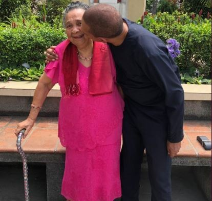 Like Mother Like Son! See How Ben Bruce Celebrated His Mom's 92nd Birthday 2