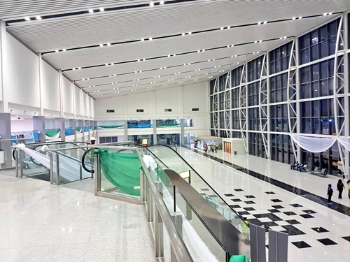 Just In: Buhari Commissions New Terminal Building At PH International Airport 1