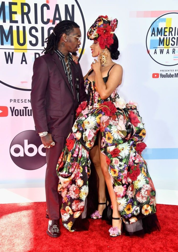 Breathtaking! Offset Shares First Ever Video Of Cardi B Giving Birth 2