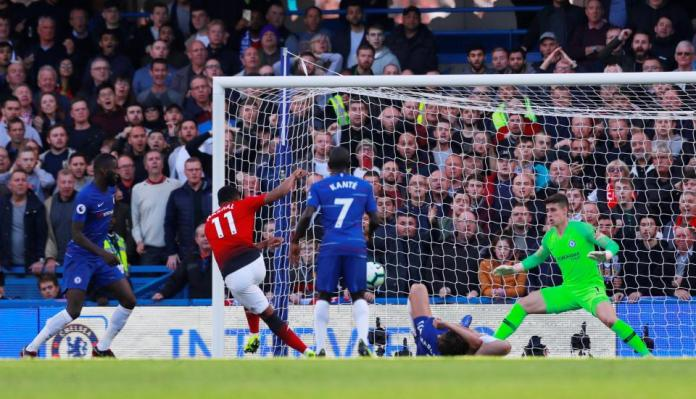 Chelsea 2 Manchester United 2: Ross Barkley Scores 96th Minute Equaliser To Cancel Out Anthony Martial's Double 1