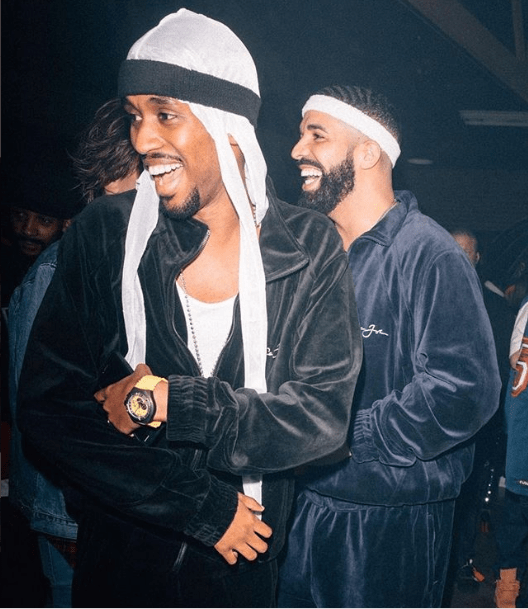 The Insider: Celebrities Storm Drake's 32nd Birthday In Retro Style 4