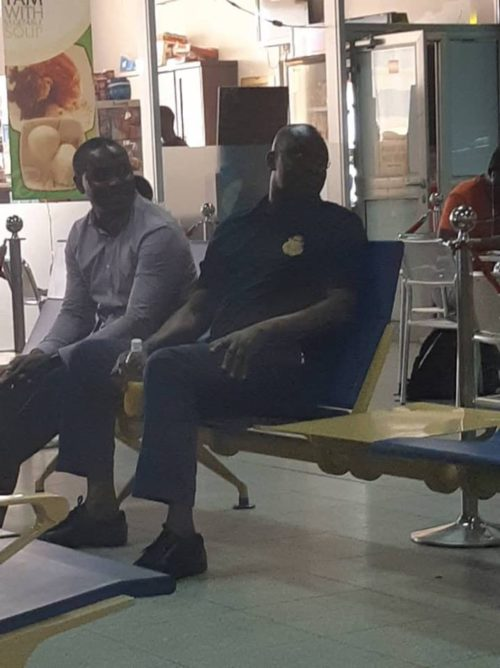 Photo Exclusive! Fayose Flown From Abuja To Face Trial In Lagos 1