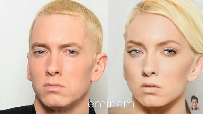 Funny Photos Of How Your Favorite American Male Musicians Would Look Like If They Were Women 5