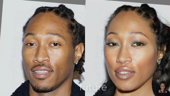 Funny Photos Of How Your Favorite American Male Musicians Would Look Like If They Were Women 8