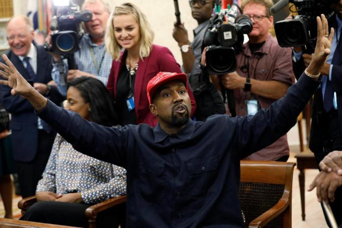 My Eyes Are Now Wide Open! Kanye West Quits Politics Over Donald Trump Immigration Policy 1