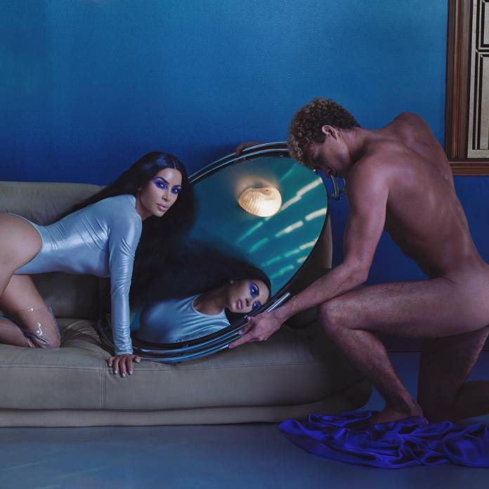 Kim Kardashian Goes Totally Unclad To Promote Her New Makeup Brand 2