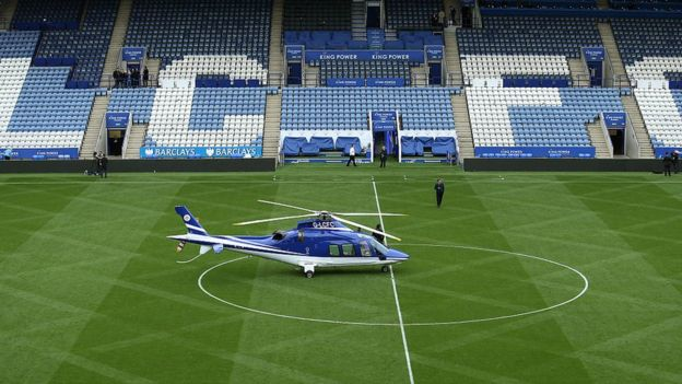 Breaking: Leicester City Owner's Helicopter Crashes 3