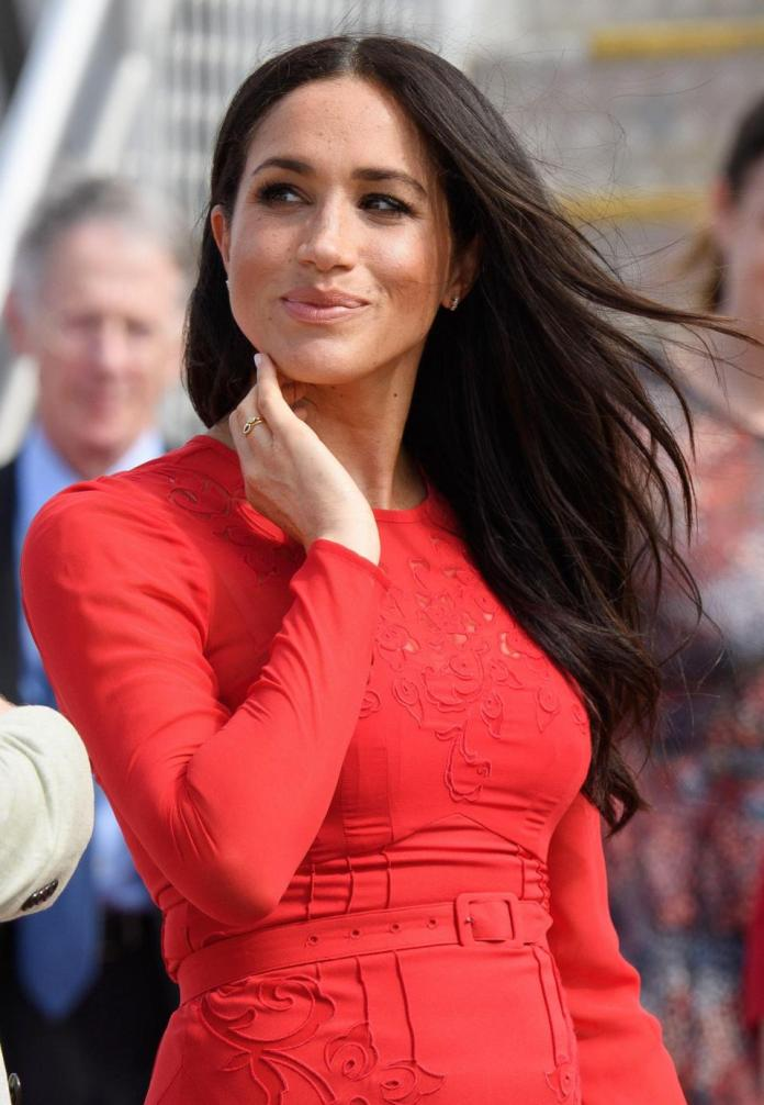 Ouch! Meghan Markle Suffers Embarrassing Fashion Faux On Royal Tour 3