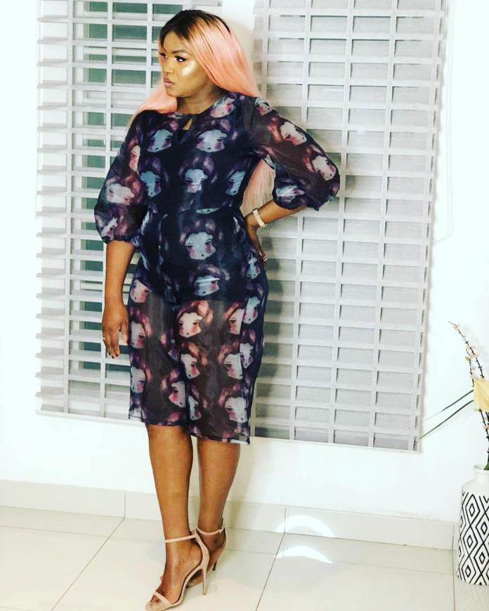 Hair Of The Day: Omotola Jalade-Ekeinde Is A Stunner In Ombre Hairdo 1