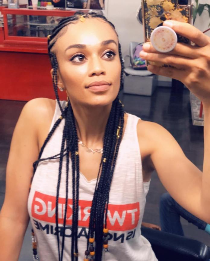 Hair Of The Day: Pearl Thusi Puts Her New Hair-Do On Display 4