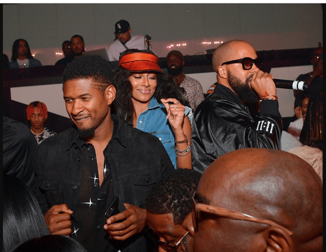 Usher Celebrates His 40th Birthday In A Very Special Way 7