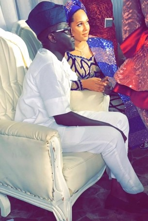 The Insider: Beautiful Photos From Wizkid's Ex-girlfriend, Tania Omotayo's Traditional Wedding 2