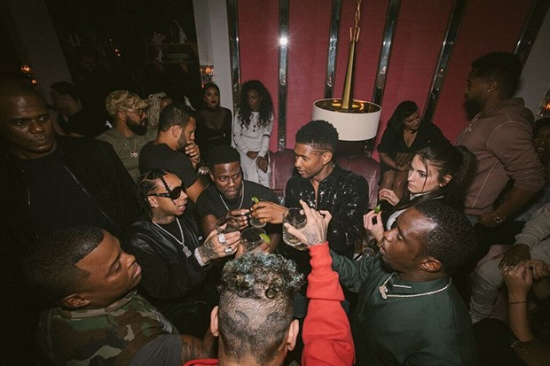 Usher Celebrates His 40th Birthday In A Very Special Way 3