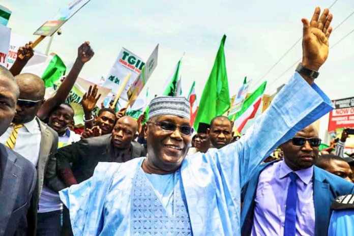 Happy! Atiku Joyous After Polls Shows He Will Defeat Buhari In 2019 Presidential Election 2