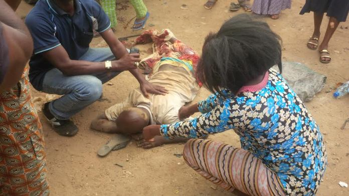 Ghastly! One Dead, 3 Injured In Road Accident At Sango Otta 1