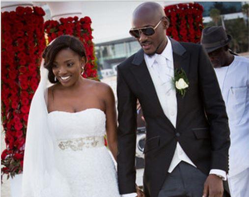 2face and Annie Idibia Wedding