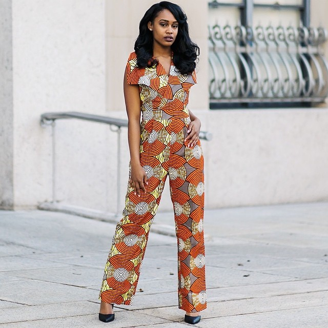 Ankara Style: 5 Chic Jumpsuit Design To Jump-start Your Week 3