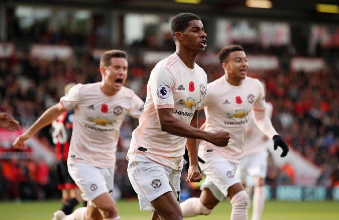 Bournemouth 1 Manchester United 2: Marcus Rashford Scores Dramatic Late Winner After Anthony Martial Equaliser 1