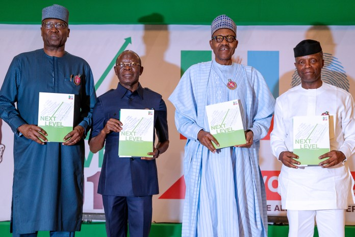 Next Level? President Buhari 'Stole' Campaign Logo From Rex Institute - Nigerians Alleges Online 1