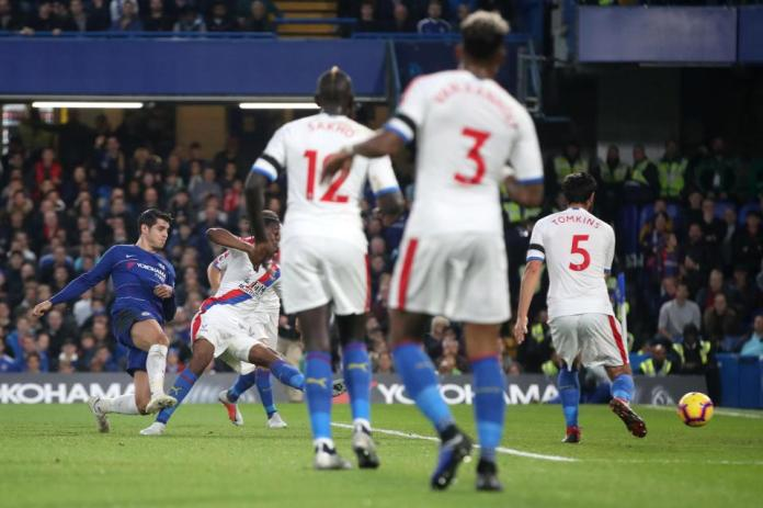 Chelsea 3 Crystal Palace 1: Alvaro Morata Scores Double To Sink The Eagles At Stamford Bridge 2