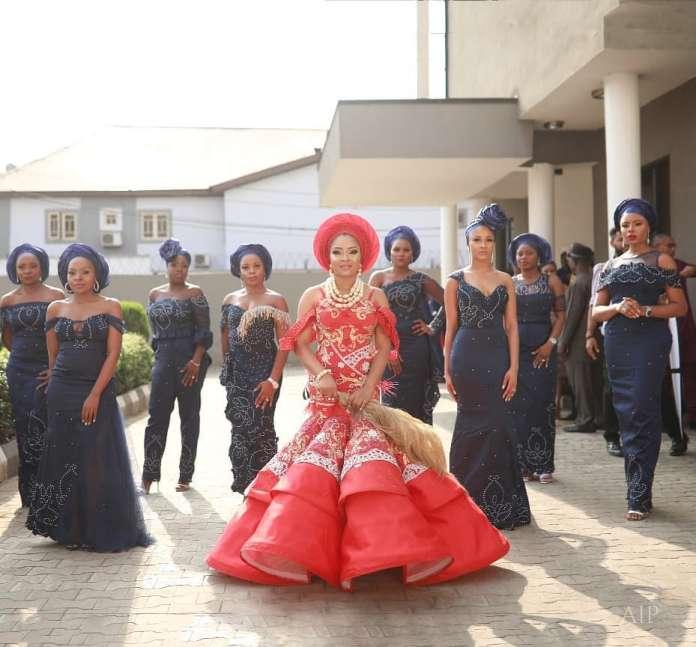 More Photos From Linda Ejiofor's Wedding To Ibrahim Suleiman 5