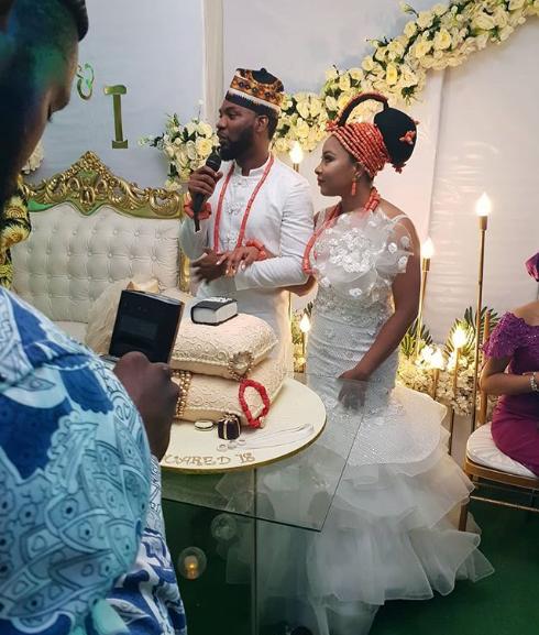 First Photos From Wedding Of Actress Linda Ejiofor And Actor Ibrahim Suleiman 3
